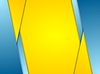 Vector clipart: Orange blue contrast corporate background