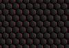 Vector clipart: Dark abstract hexagonal texture design