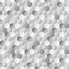 Vector clipart: Grey metallic hexagons pattern texture