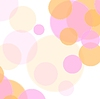 Vector clipart: Pastel colors abstract minimal circles design