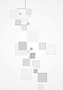 Vector clipart: Abstract vertical background with grey squares