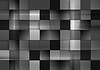 Abstract black futuristic squares background