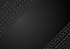 Vector clipart: Dark black tech geometric background