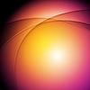 Vector clipart: Orange purple glowing waves background
