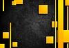Orange tech elements on dark grunge background