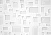 Geometrische grauen Hintergrund mit Quadraten | Stock Vektrografik