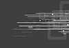 Vector clipart: Geometric tech grey background