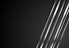 Vector clipart: Abstract tech brilliant metallic stripes