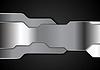Metálico brillante de fondo futurista tecnología | Ilustración vectorial