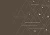 Vector clipart: Dark abstract tech triangles pattern