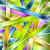 Bunte glänzende Streifen Hintergrund   Stock Vektrografik