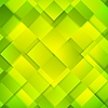 Vector clipart: Abstract bright green squares background