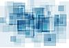 Hallo-Tech-blauen abstrakten Hintergrund | Stock Vektrografik