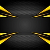 Vector clipart: Dark tech corporate abstract background