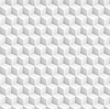 Vector clipart: Grey abstract 3d cubes pattern