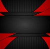 Vector clipart: Dark red tech corporate abstract background