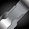 Vector clipart: Abstract metal background