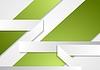Papel gris verde del diseño del folleto corporativo | Ilustración vectorial