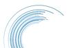 Vector clipart: Blue tech arc background
