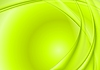 Vector clipart: Bright green wavy background