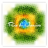 Brazil flag colors grunge background