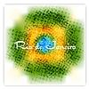 Бразилия флаг цвета фона гранж