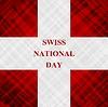 Vector clipart: Swiss National Day, Schweizer Bundesfeier