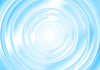 Vector clipart: Bright blue abstract smooth circle background