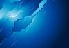 Vector clipart: Dark blue hi-tech background