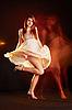 춤추는 여자 | Stock Foto