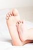 Photo 300 DPI: Children`s foot