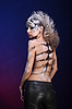 White tiger - beautiful model with bodypainting   Stock Foto