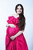 아름 다운 임신 한 여자 | Stock Foto