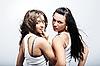 두 여자 | Stock Foto