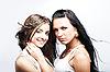 Photo 300 DPI: two girlfriends