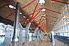마드리드 공항의 현대 건축 | Stock Foto