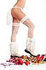 Фото 300 DPI: Рождественски женские ножки