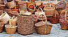 Wicker baskets | Stock Foto
