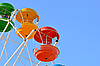 Photo 300 DPI: Vivid booth ferris wheel in the sky