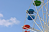 ID 3026142 | Vivid booth ferris wheel in the sky | High resolution stock photo | CLIPARTO