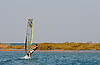 Windsurfing on the Red Sea | Stock Foto