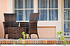 Wicker furniture on the terrace | Stock Foto