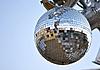 Lustrzane disco ball   Stock Foto