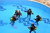 Photo 300 DPI: Diving lessons