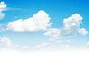 여름 하늘 | Stock Foto
