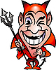 Vector clipart: Red Devil