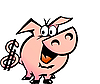 Vector clipart: Dollar Pig