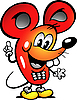 Vector clipart: Mouse Cellphone