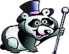 Vector clipart: Panda Bear