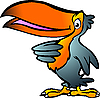 Vector clipart: Toucan Cartoon